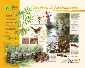 La ribera de la Omañuela